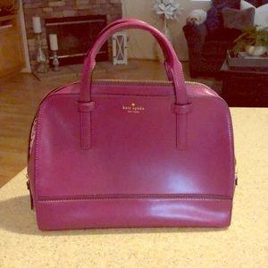 Kate Spade purple tote